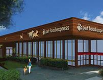 Petfood Express Store design