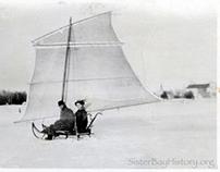 1915 Wisconsin Ice Boat • Door County