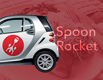 Spoon Rocket Branding