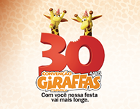 Hotsite - Convenção Giraffas 30 Anos