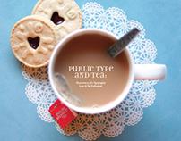 Public Typography and Tea