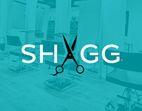 Shagg Salon and Spa Identity