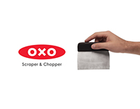 New OXO Scaper & Chopper