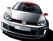 VW Golf tuning