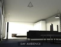 Loft Interior Minimalistic Design