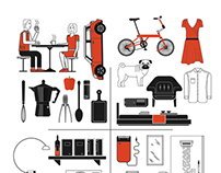 Smart House - Illustration branding