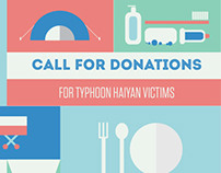 Call for Donations for Haiyan victims in Philippines