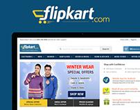 Flipkart - Redesign concept