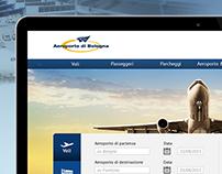 Bologna Airport redesign / Web site