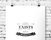 Famous Quotes Posters / Vol.1