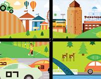 BAAG: Illustration & Icon Development