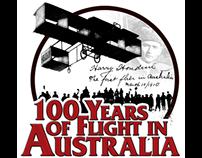 100 Years of Flight in Australia Airshow Logo