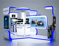 Handycam activation booth