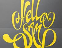Hello Sam - Branding