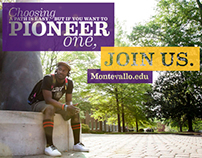 Admissions Poster — University of Montevallo