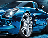 "Mercedes-Benz ""SLS AMG Electric Drive"""
