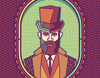 Gentleman [portrait & pattern]