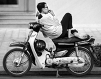 My bike, My seat