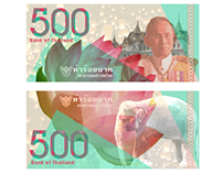 Thailand Currency Design