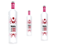 vodka packaging by dedend