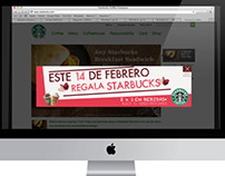 14th February Banner for Starbucks