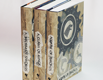 A Game of Thrones Book Jackets