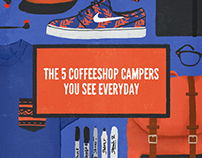 The 5 Coffeeshop Campers You See Everyday