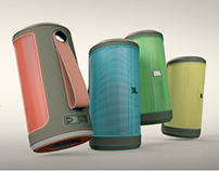 The Indian portable speaker - JBL -with Designit Munich