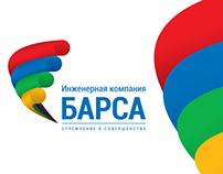Logo for BARSA engineering company