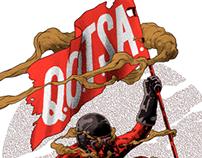 QOTSA - Gig Poster - Hamburg 2013