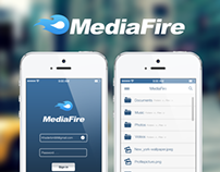 app Médiafire IOS7
