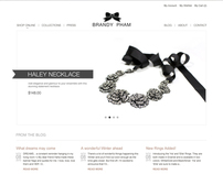 BrandyPham.com Website