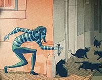Illustrations for Carrossel Mag