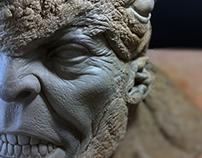 Sculpture Rhino