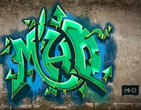 MHD - Graffiti Illustration