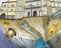 Napoli in 3Dimensioni: la città allagata