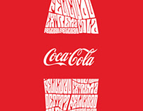 Caligrama Coca Cola
