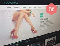 [FREE] FooseShoes eCommerce PSD