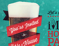 iMarc Holiday Party Invitation