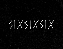 SIXSIXSIX Font