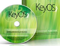 Key OS logo, identity