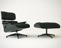Eames Lounge Chair Black Edition