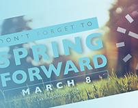 2015 Daylight Saving | Spring Forward