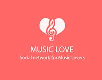 MusicLove - Social Network