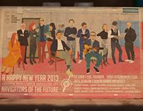 CIA Inc. 2013 New Year Card
