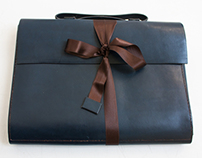 Leather Business Bag - By N Design