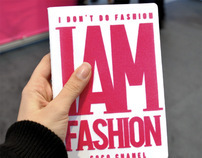 I Am Fashion - Notebook Cover