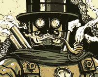 steampunk characters