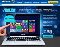 Hotsite ASUS - Site Walmart Brasil