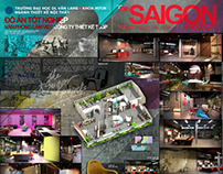 Graduation project - The SaiGon Peojects's Head Office